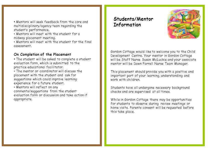 Nhs Fife Name Student Nurse Information Booklet Index Page Ppt