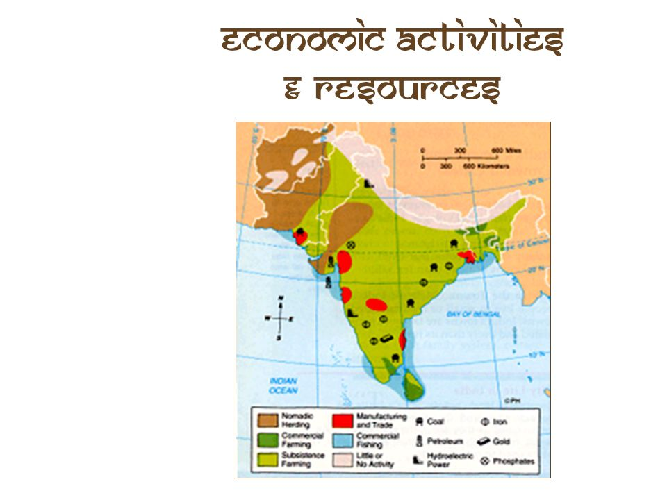 Economic Activities & Resources