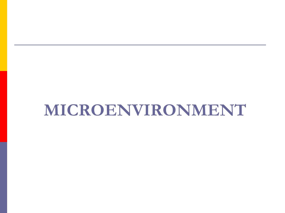 MICROENVIRONMENT