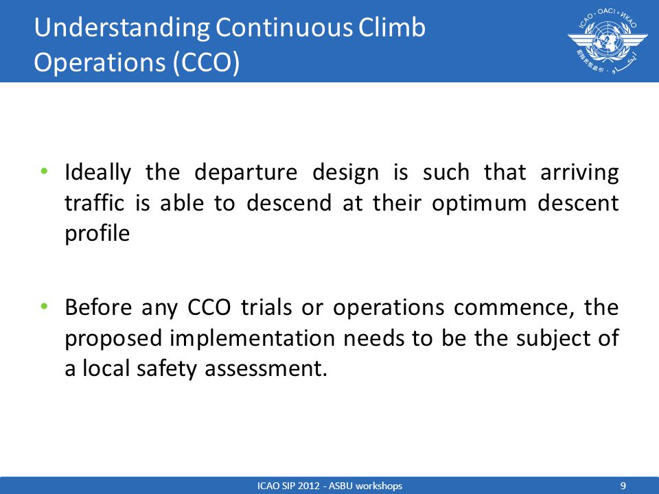 Understanding Continuous Climb Operations (CCO)