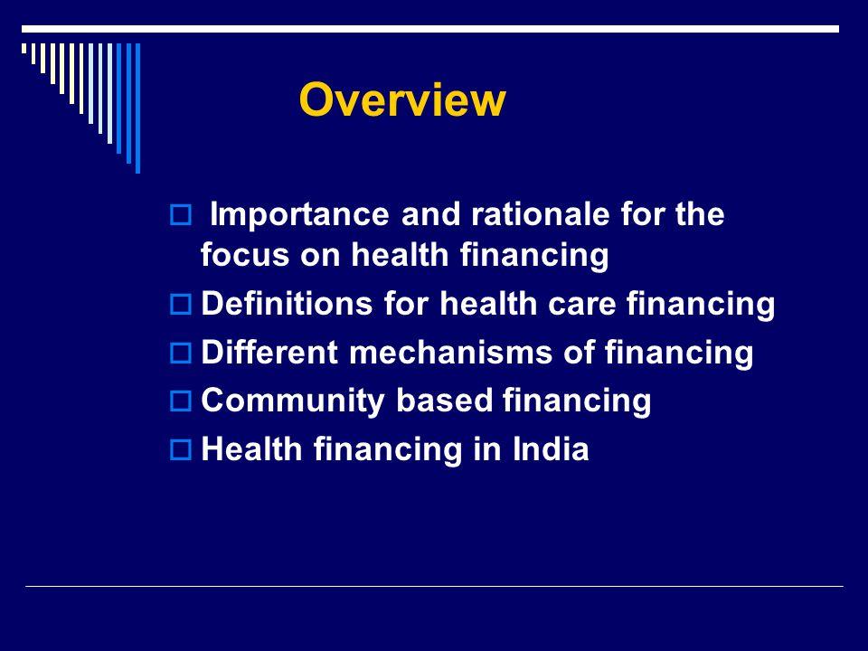 Preethi Pradhan Health Care Financing Preethi Pradhan Ppt Video