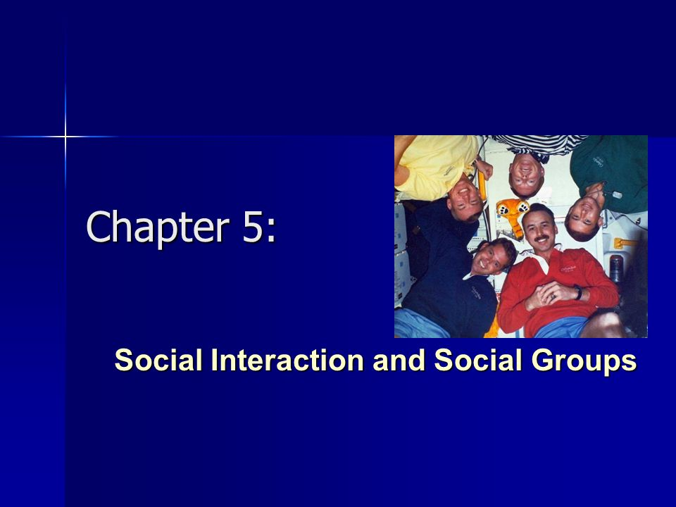 Social Interaction and Social Groups