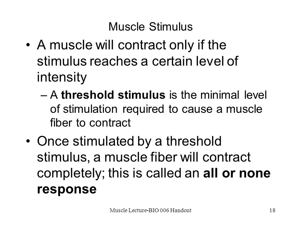 Muscle Lecture-BIO 006 Handout