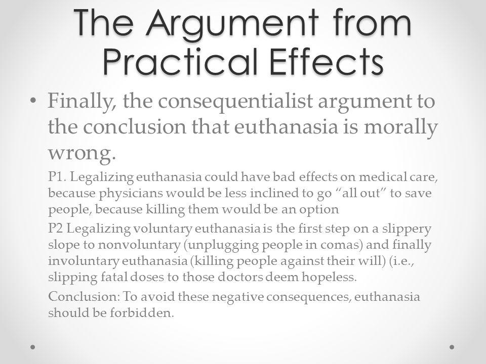implications of euthanasia
