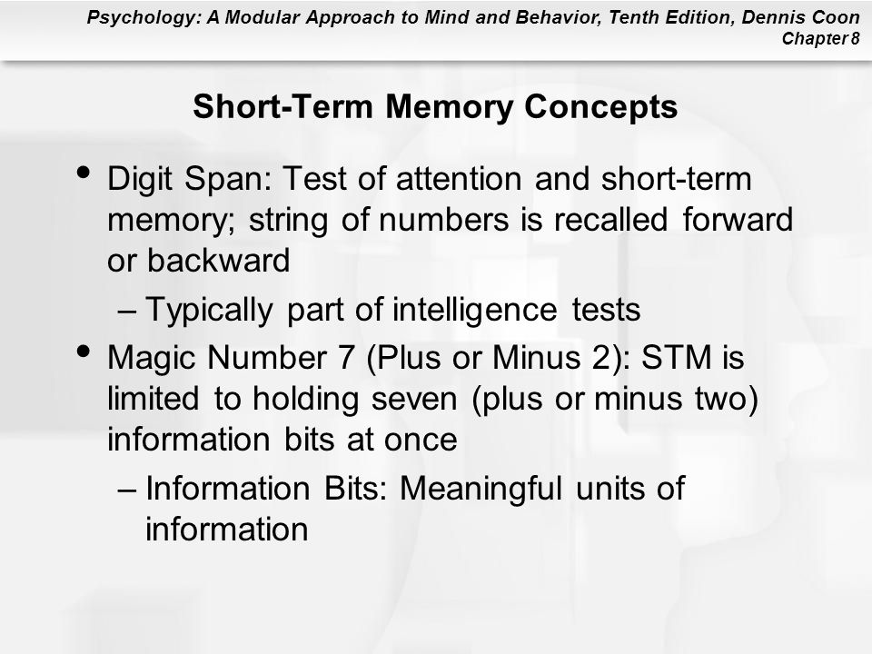 Chapter 8 Memory Ppt Download