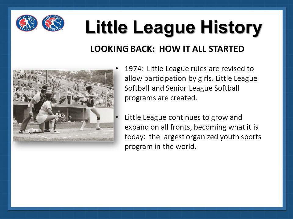 Little League® Baseball and Softball League Officials