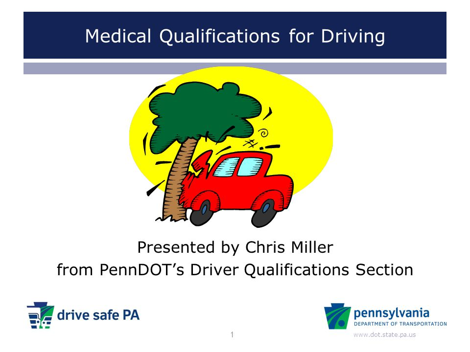 Medical Qualifications for Driving