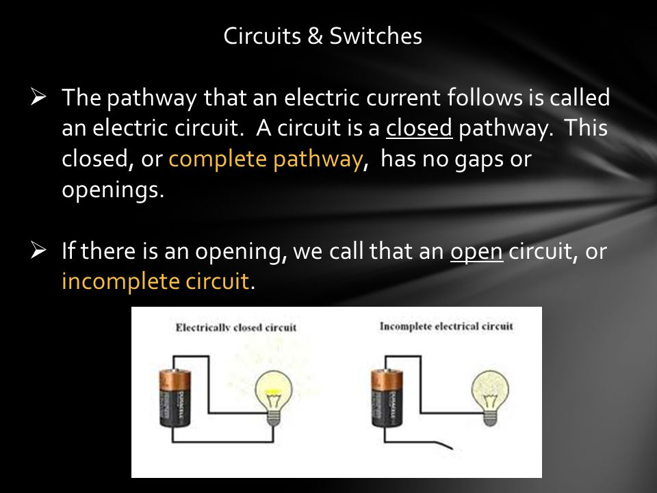 Circuits & Switches