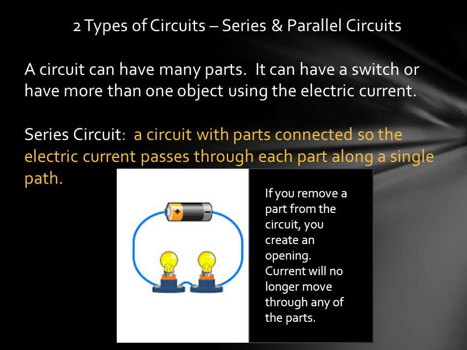 2 Types of Circuits – Series & Parallel Circuits