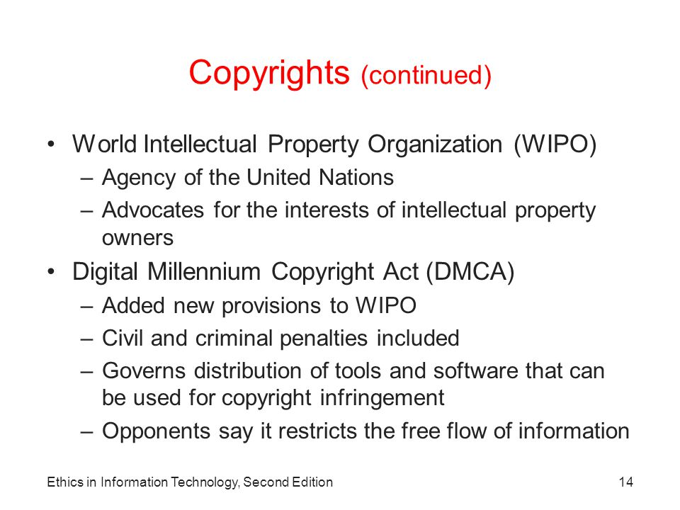 copyright in information technology