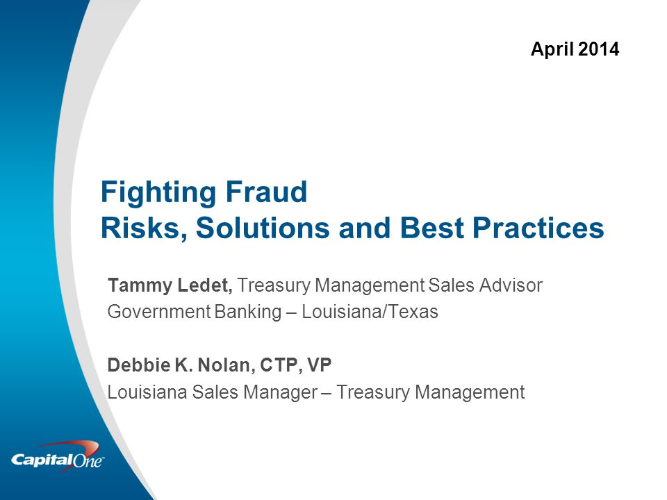 Fighting Fraud Risks, Solutions and Best Practices