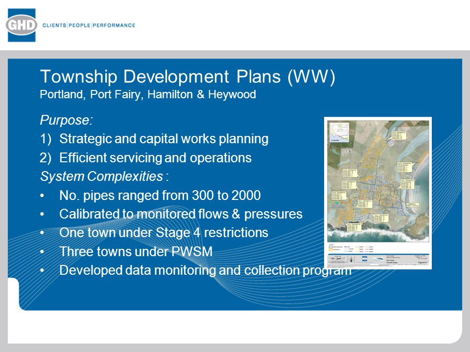 GHD Water Systems Hydraulic Modelling - ppt download