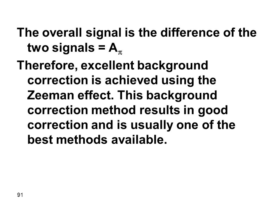 The overall signal is the difference of the two signals = Ap