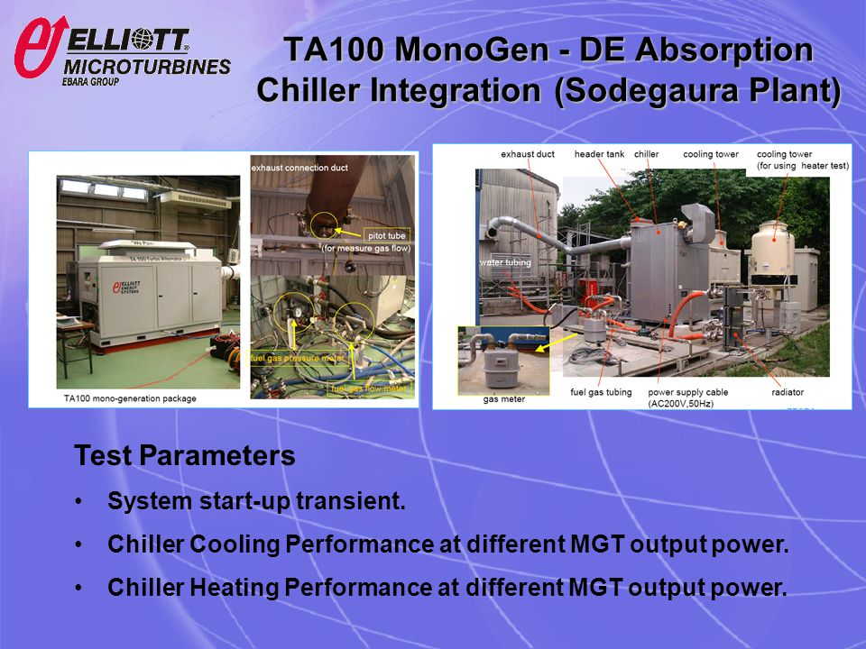 TA100 MonoGen - DE Absorption Chiller Integration (Sodegaura Plant)
