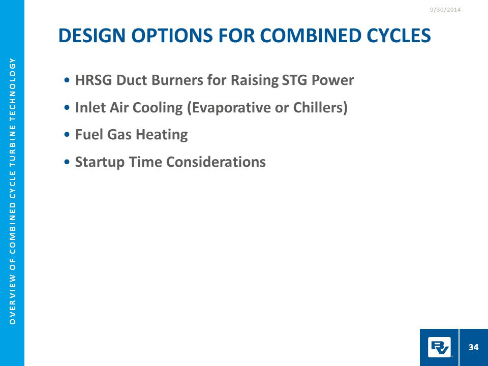 Overview of Combined Cycle Turbine Technology - ppt download