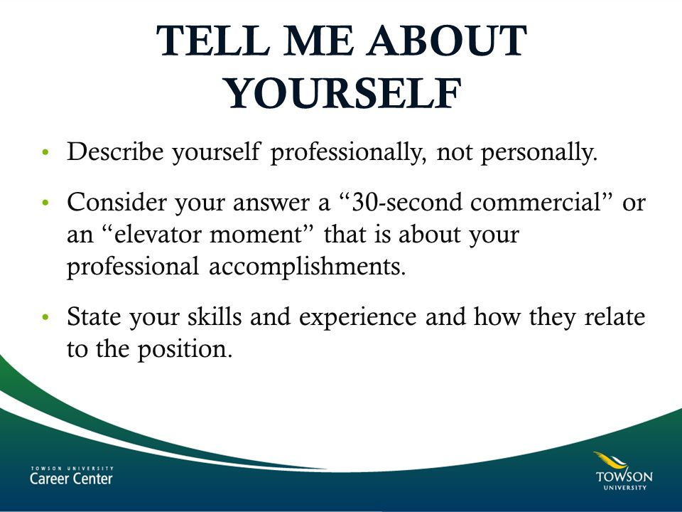 skills to describe yourself