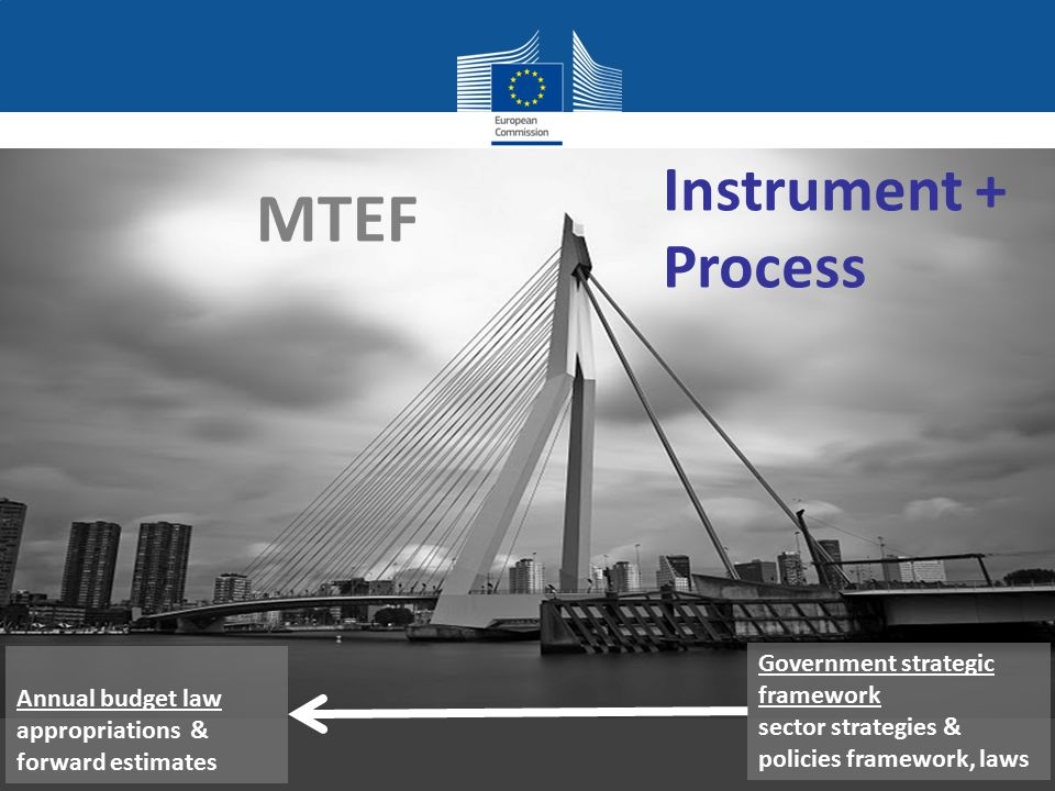 MTEF Instrument + Process Government strategic framework
