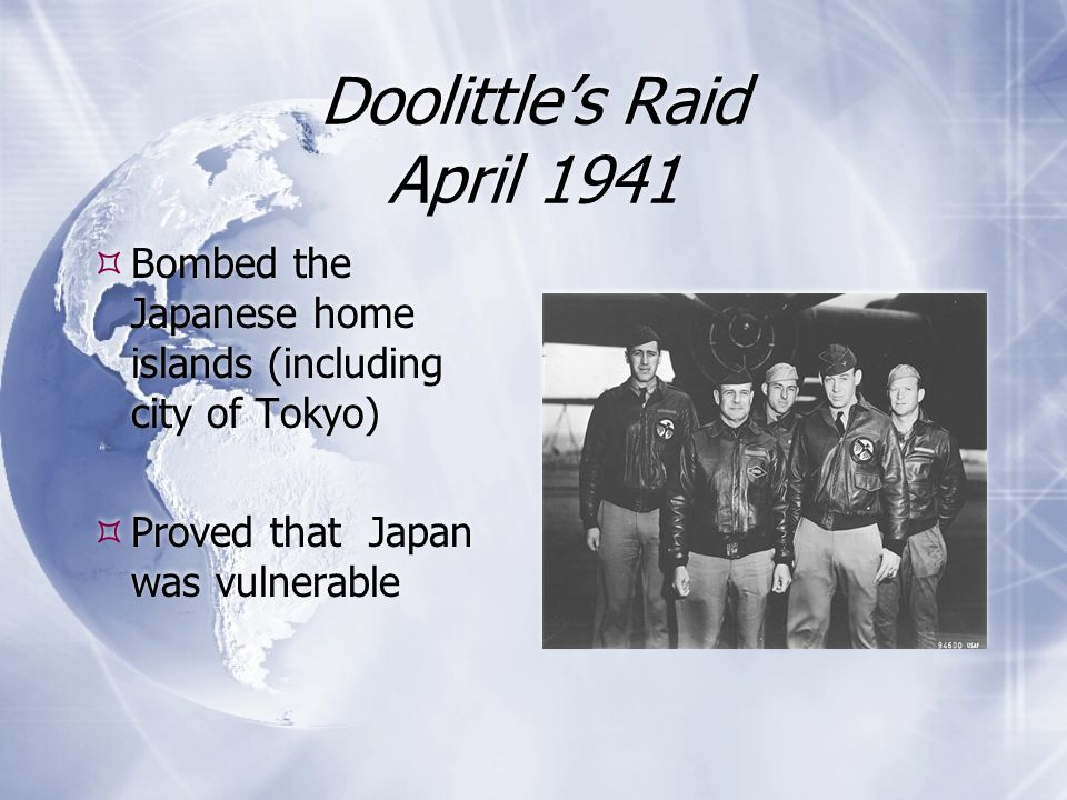 Doolittle's Raid April 1941