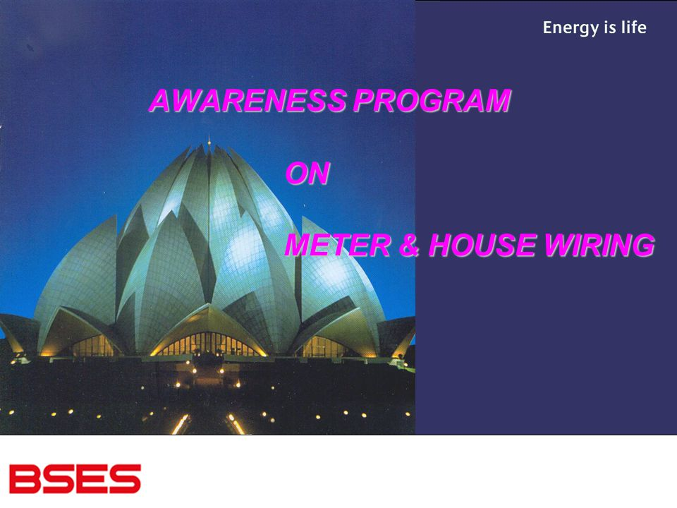 Remarkable Awareness Program On Meter House Wiring Ppt Download Wiring Digital Resources Indicompassionincorg