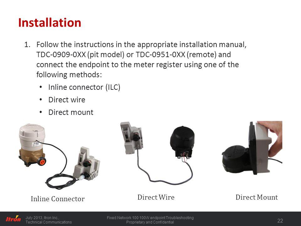 100 series water endpoint installation ppt download panasonic wiring diagram itron wiring diagram #14