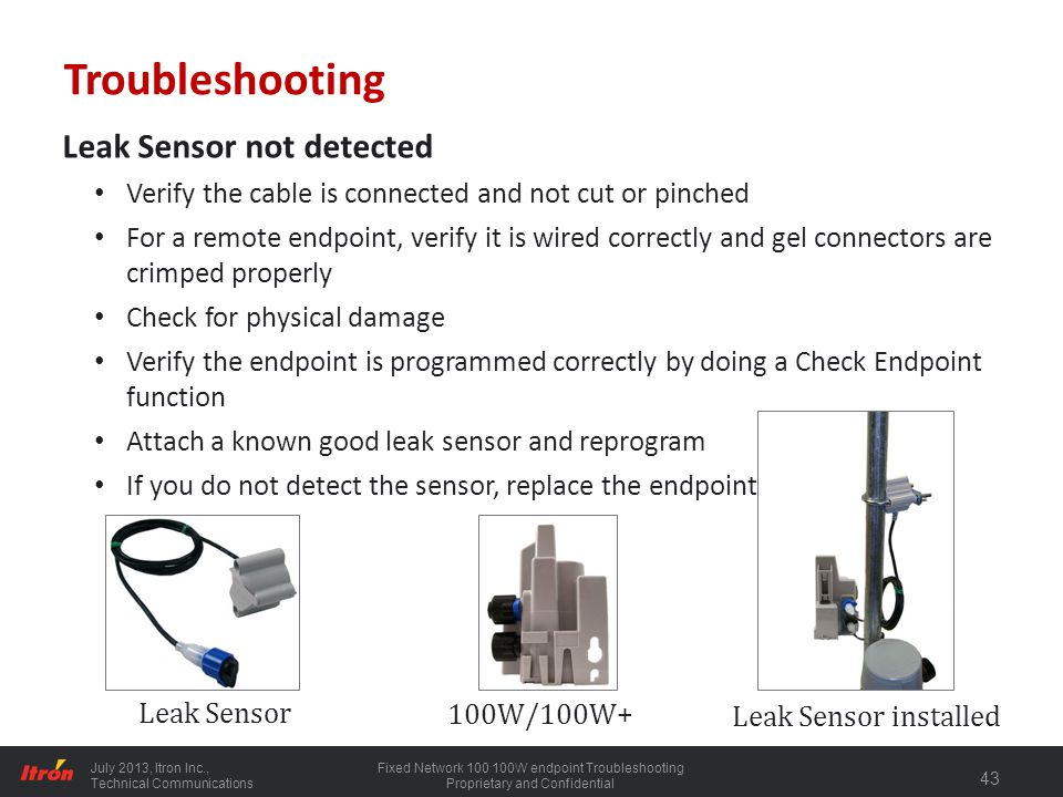 100 Series Water endpoint Installation - ppt download on