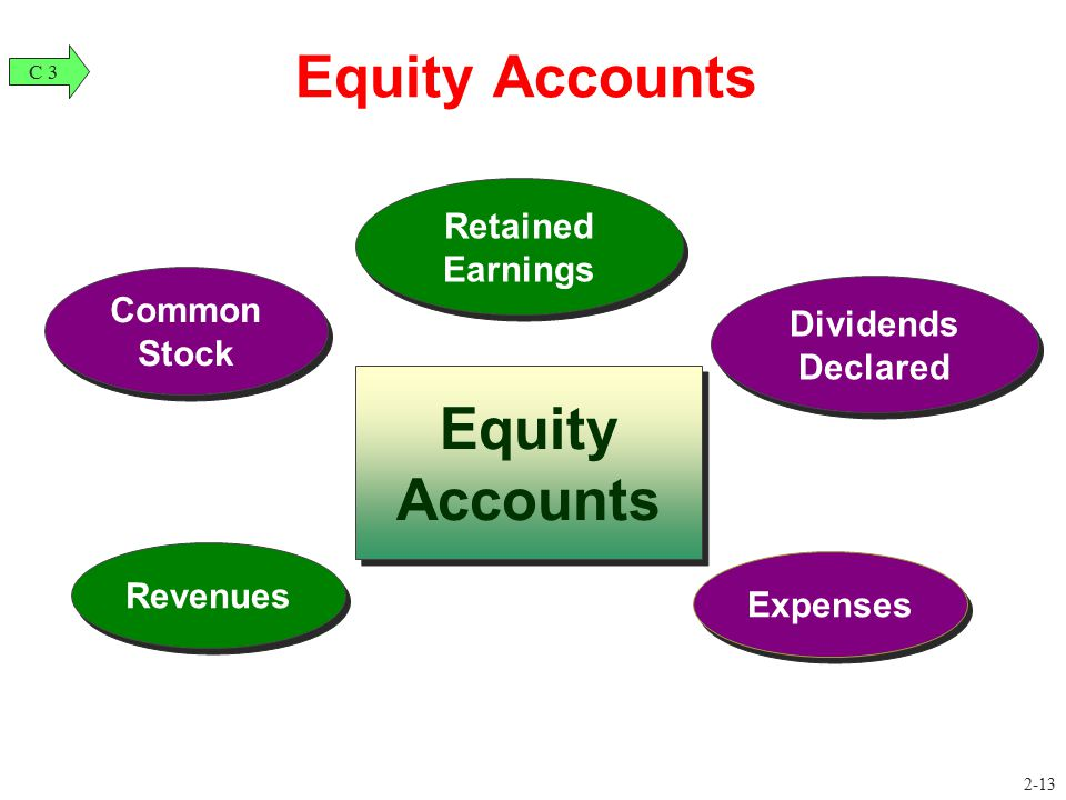 Equity Accounts Equity Accounts