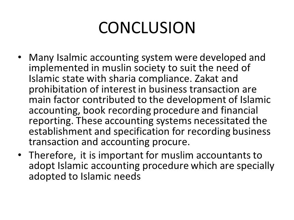 conclusion for sole trader