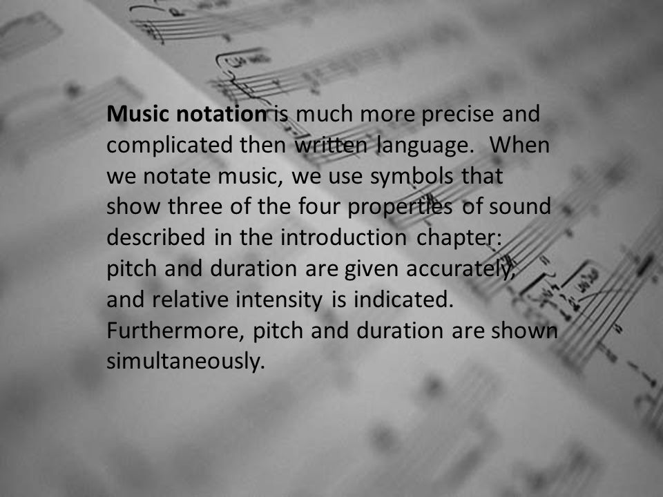 Chapter 1 Music Notation Ppt Video Online Download