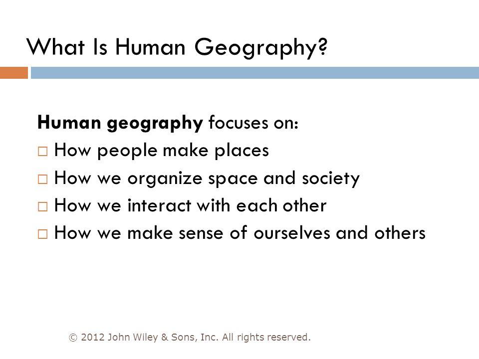 wilbur zelinsky ap human geography