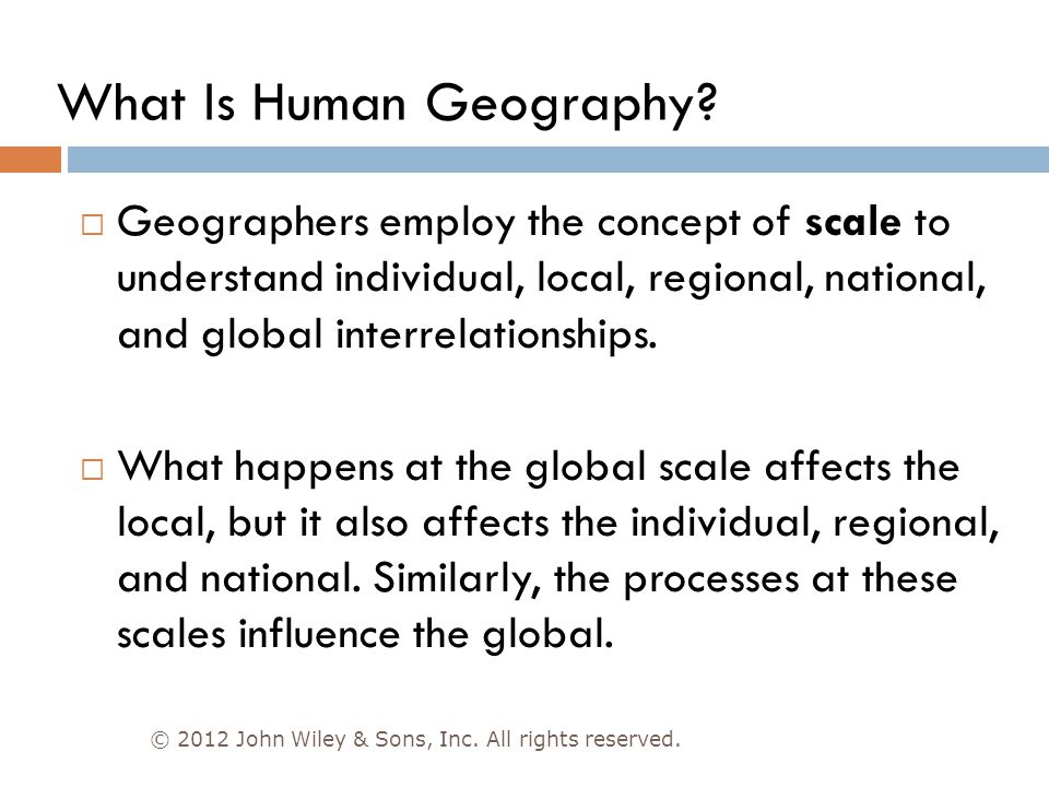 Chapter 1: Introduction to Human Geography - ppt video
