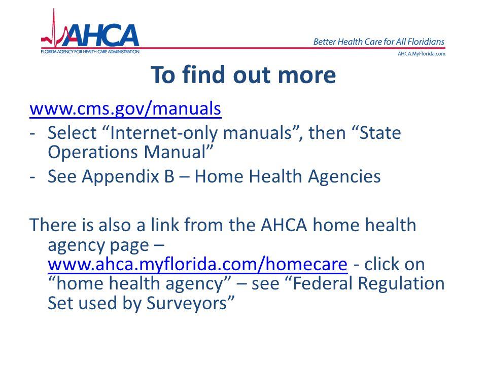 state operations manual home health free owners manual u2022 rh wordworksbysea com state operations manual appendix b 2018 state operations manual appendix b update