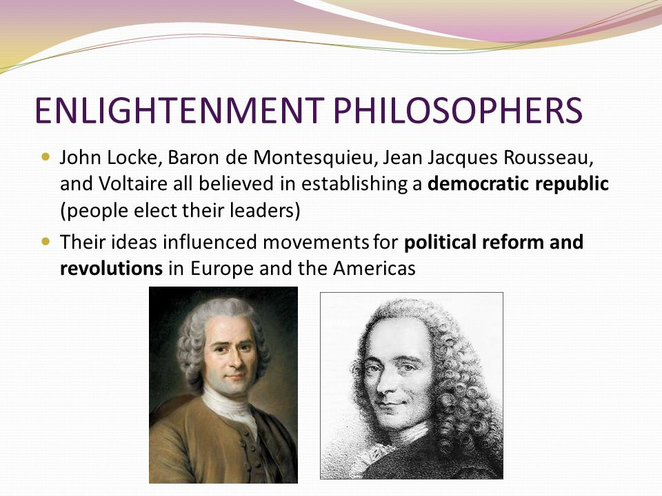 jean jacques rousseau and john locke their Introduction the geneva-born philosopher and novelist jean-jacques rousseau (1712-1778) has had a significant influence on thinking about childhood and education.