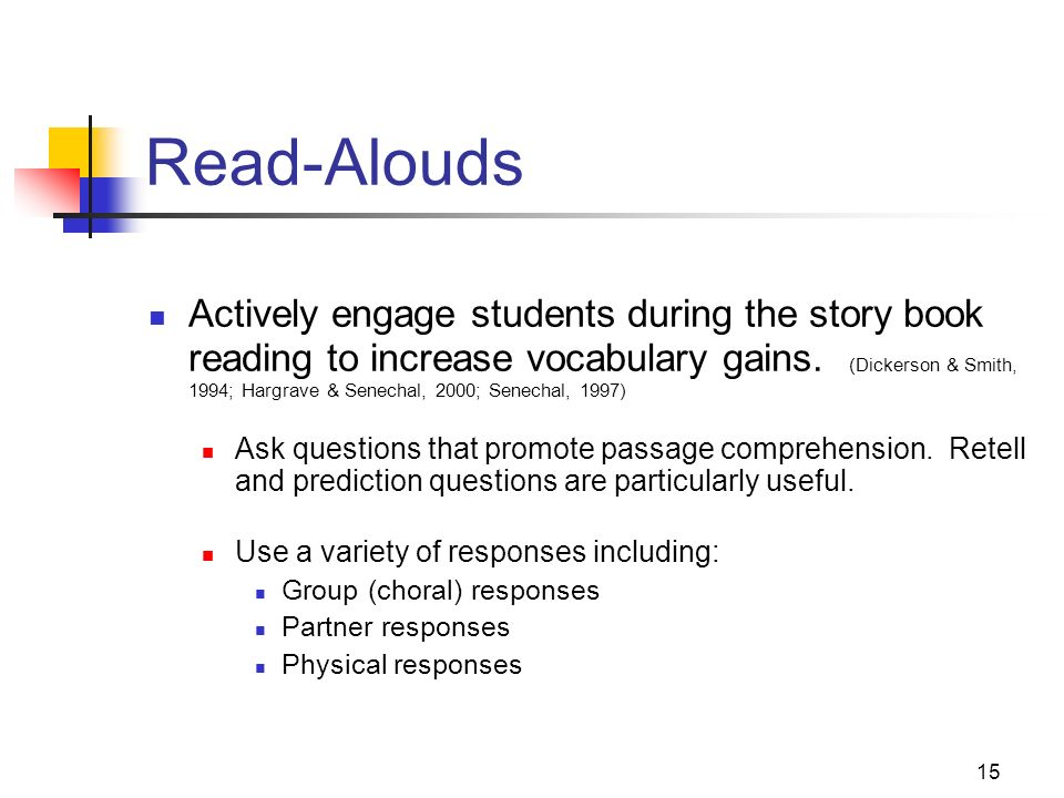 Read-Alouds