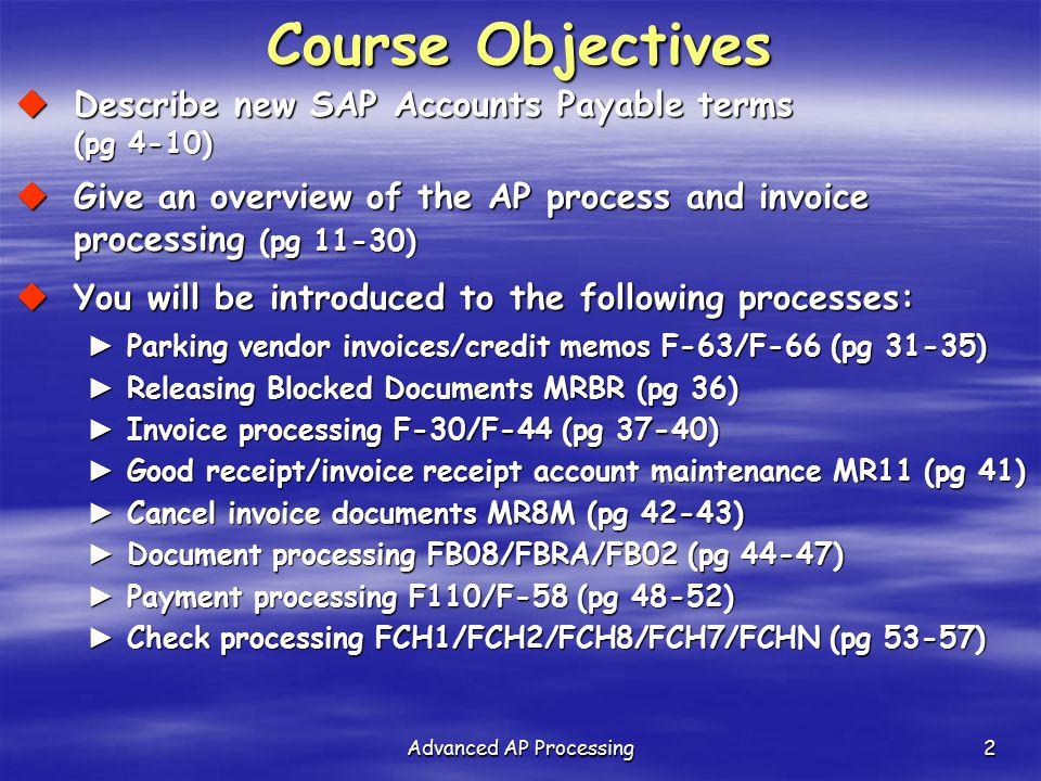 Advanced AP Processing - ppt download