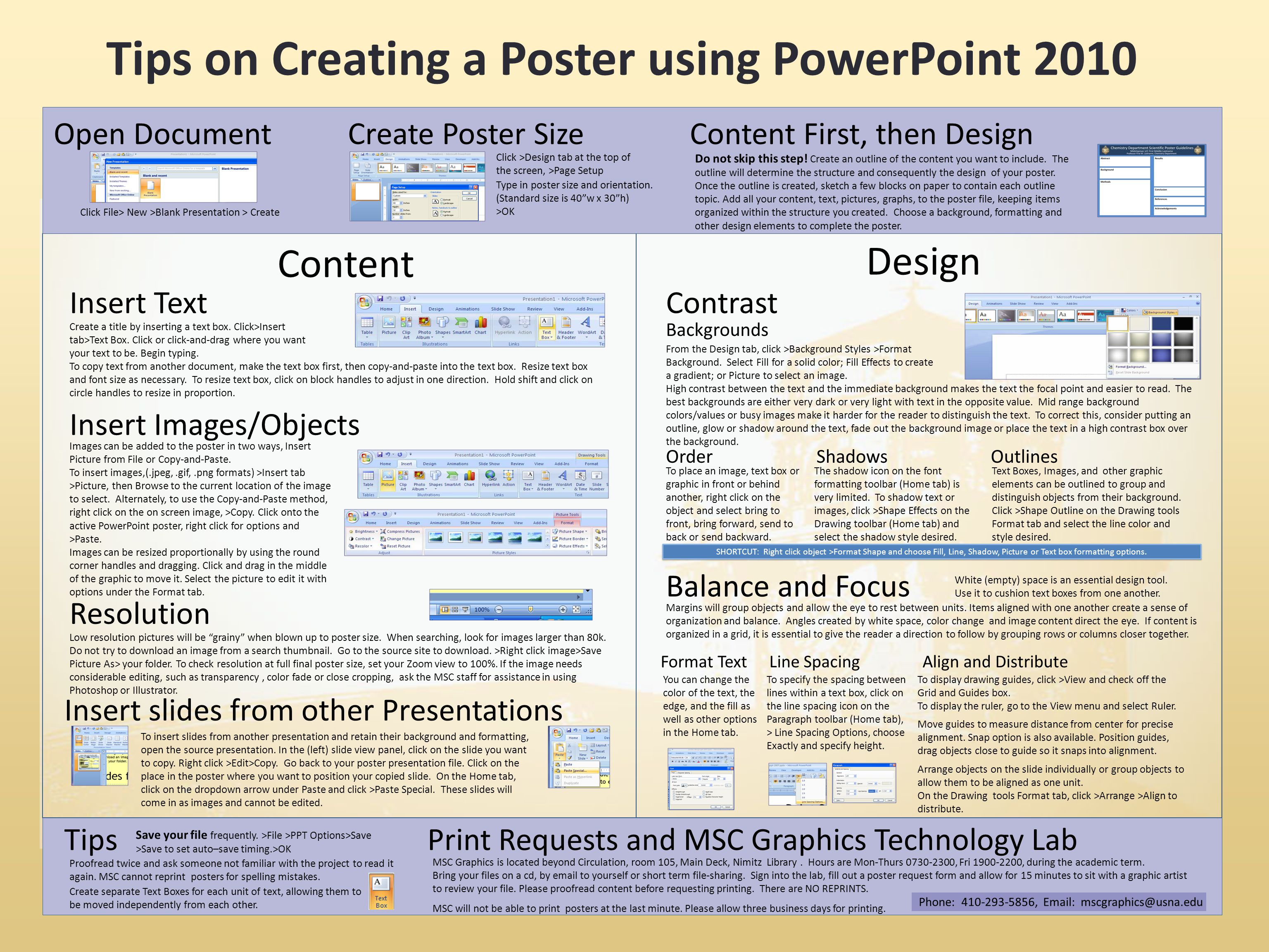 instructions for capstone day posters ppt download