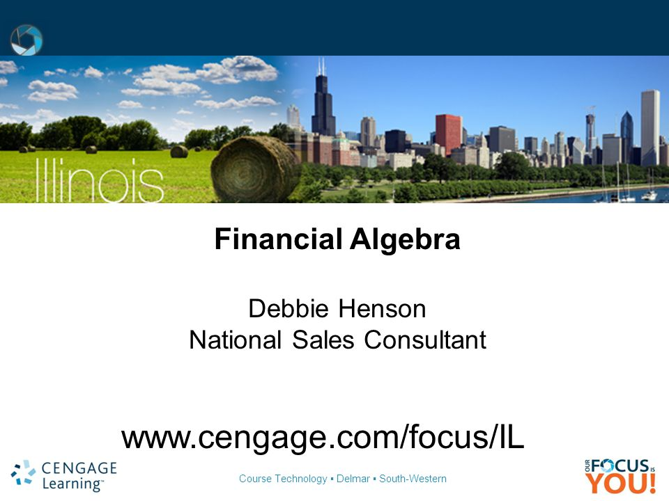 Financial algebra 2011 gerversgroi pub date 12710 ppt download 2 national sales consultant fandeluxe Images