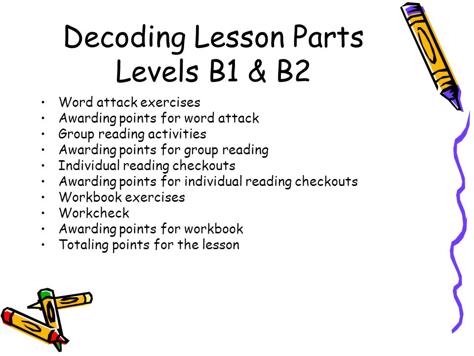 Sra corrective reading ppt video online download decoding lesson parts levels b1 b2 ibookread PDF