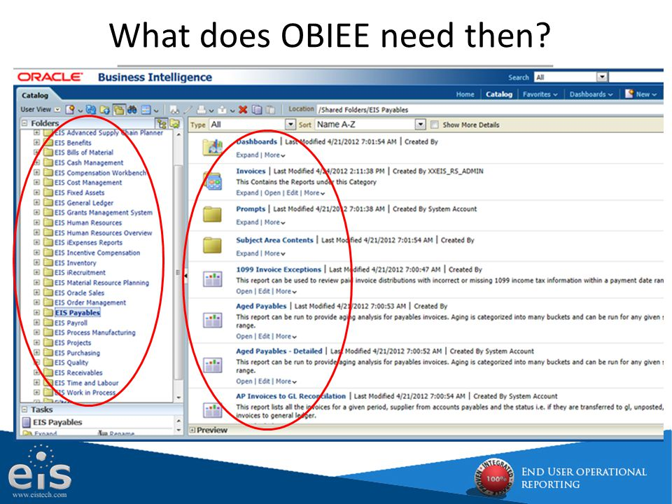 Migrating Discoverer to OBIEE, and getting OBIEE Live in 7