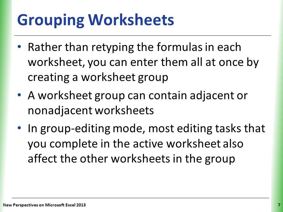 Tutorial 6 Managing Multiple Worksheets And Workbooks Ppt Video