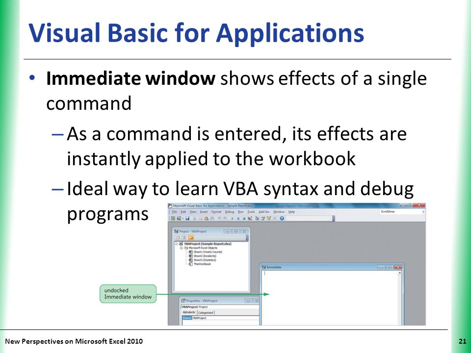 Tutorial 12: Enhancing Excel with Visual Basic for