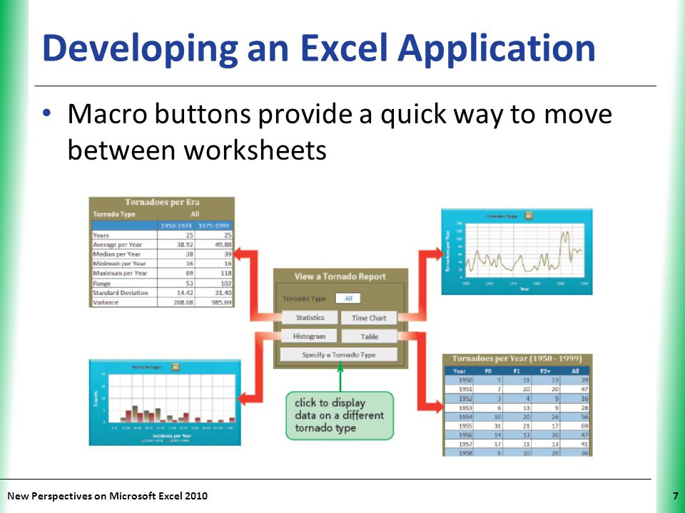 Developing an Excel Application