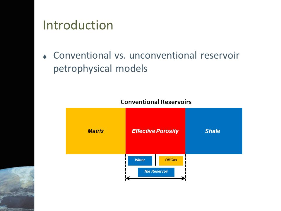 Conventional Reservoirs