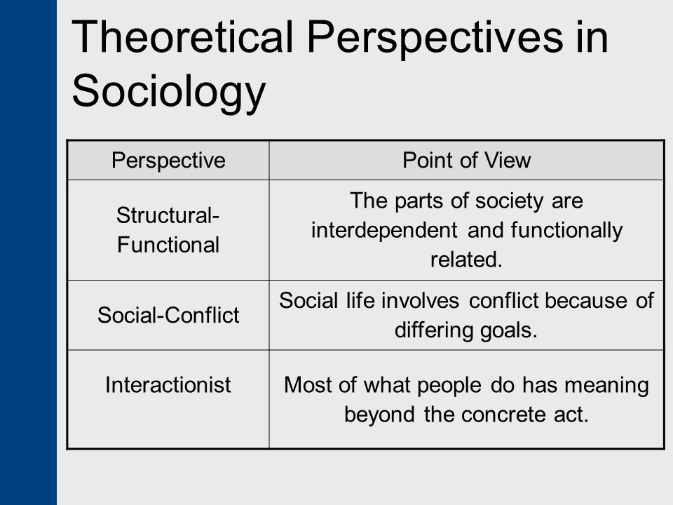 Theoretical Perspectives In Sociology Orgsan Celikdemirsan Com