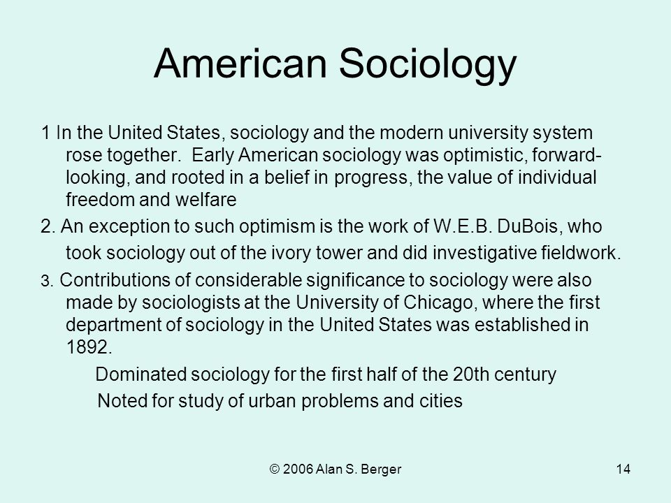 What Is Sociology? Sociology: The systematic study of the