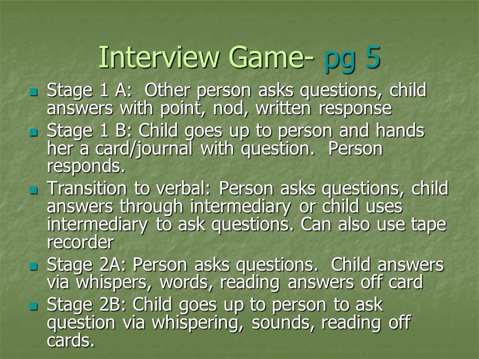 Selective Mutism Summer Seibert, M S , CCC-SLP - ppt video