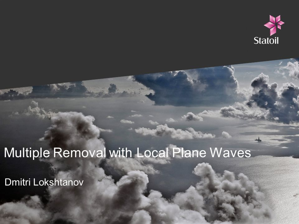 Multiple Removal with Local Plane Waves