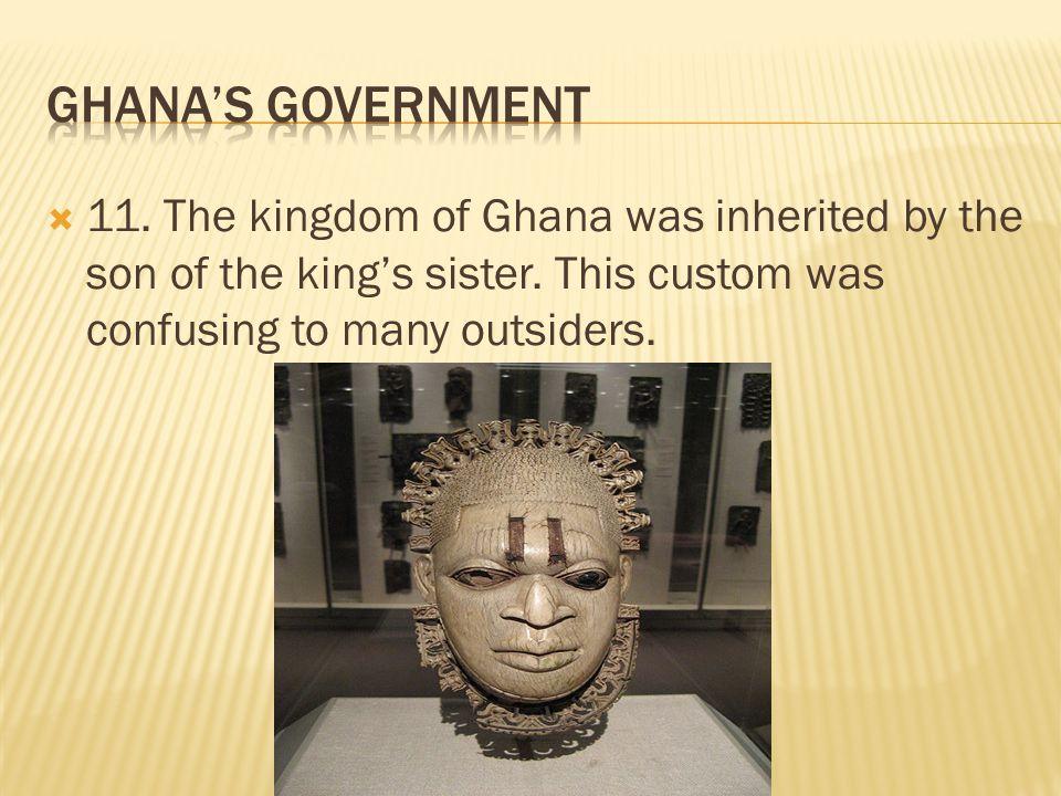 kingdom of ghana government