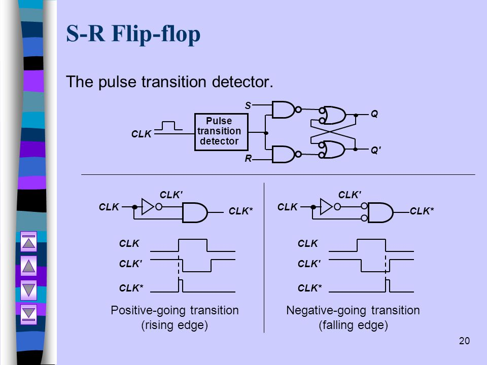 Pulse transition detector