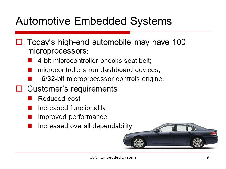 Today S Lecture What Is The Embedded System Ppt Video Online Download