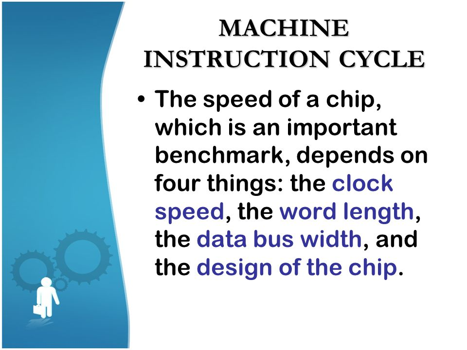 MACHINE INSTRUCTION CYCLE